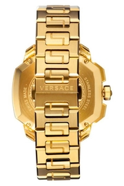 Versace Gold Watch - Front full body