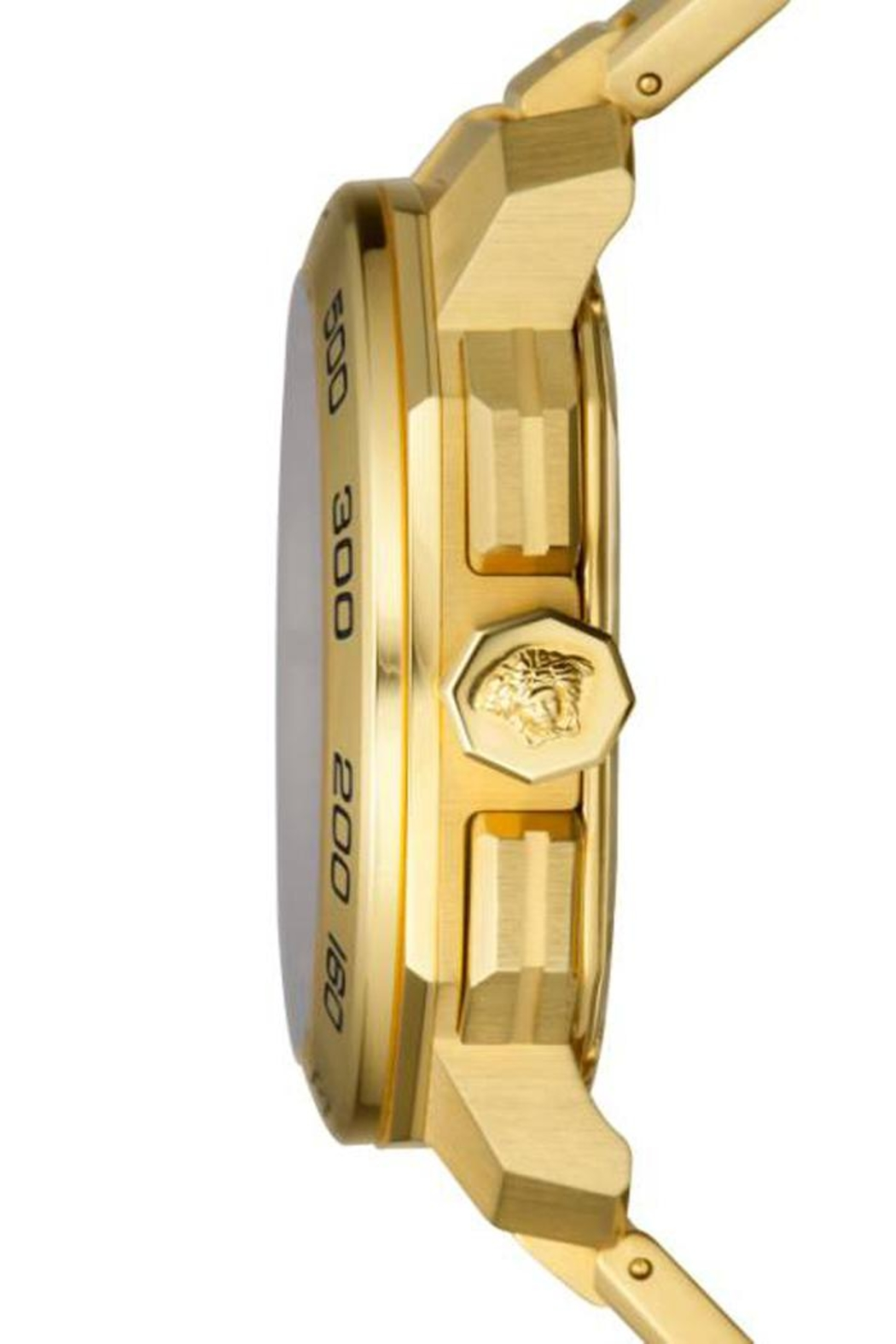 Versace Gold Watch - Side Cropped Image