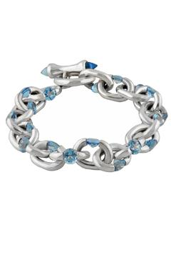 Shoptiques Product: Gemstone Tension Bracelet