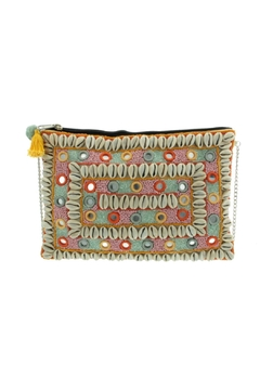 Versteegh Mirror Beaded Clutch - Product List Image