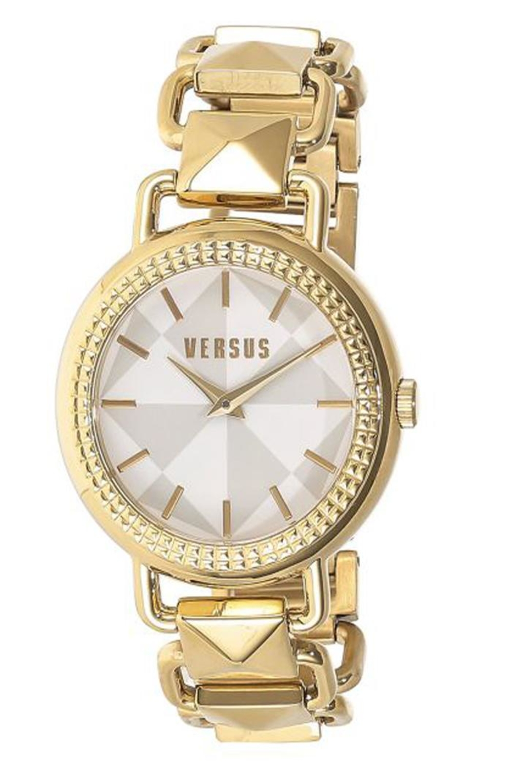 VERSUS by Versace Versus Gold Watch - Front Cropped Image