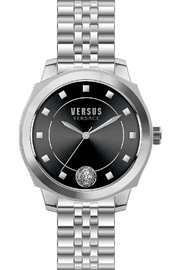 VERSUS by Versace Versus Silver Watch - Front cropped