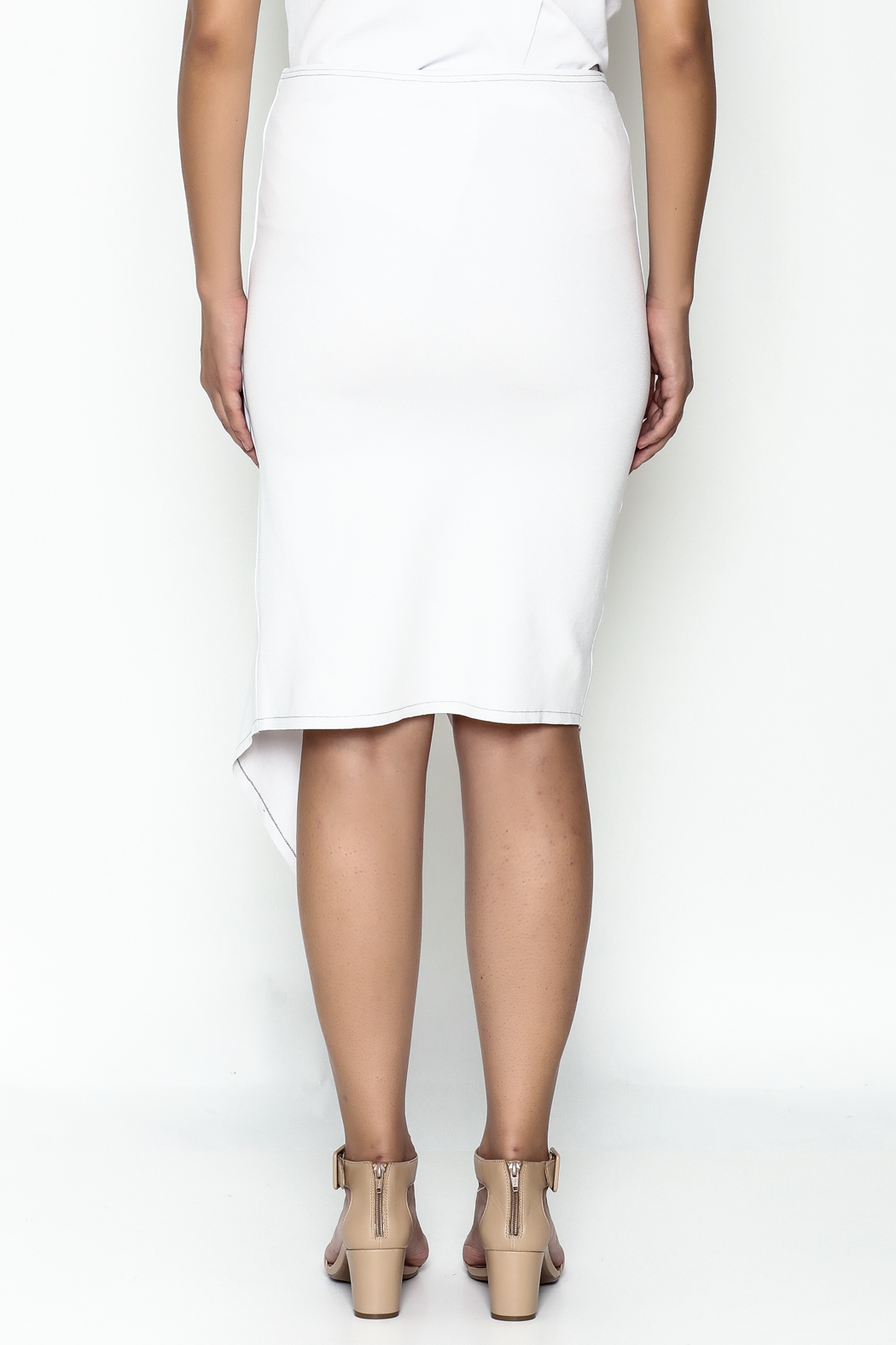 Vertex Dina Skirt - Back Cropped Image