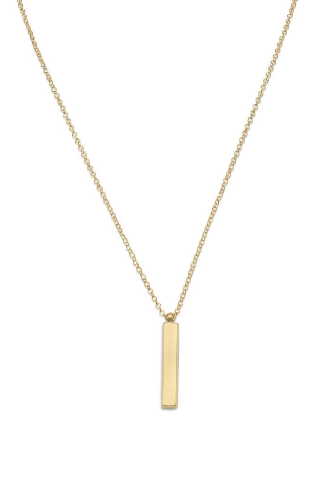 Wild Lilies Jewelry  Vertical Bar Necklace - Main Image