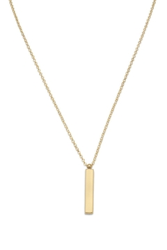 Wild Lilies Jewelry  Vertical Bar Necklace - Alternate List Image