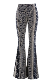 Fashionomics Vertical Bell Bottoms - Front cropped
