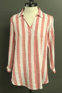 Multiples Vertical Stripe Blouse - Product List Image
