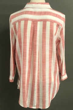 Multiples Vertical Stripe Blouse - Alternate List Image
