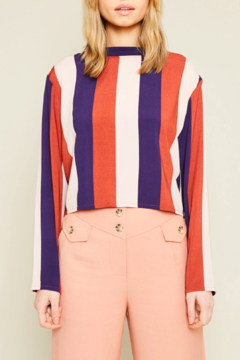 Native Youth Vertical-Stripe Paavo Top - Product List Image