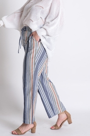 Lyn -Maree's Vertical Stripe Pant - Product Mini Image