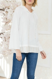 Mystree Vertical Stripe Straps Pullover - Front cropped