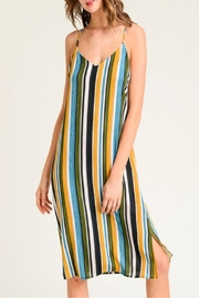 Miss Darlin Vertical Striped Dress - Product Mini Image