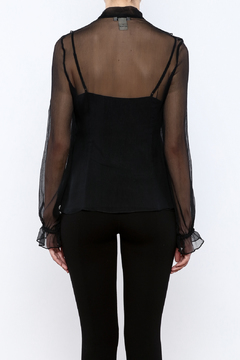 Vertigo Black Sequined Top - Alternate List Image