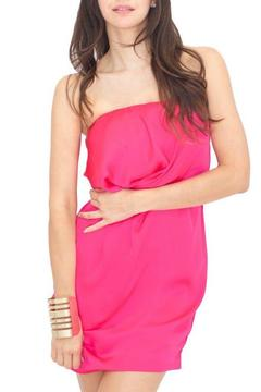 Vertigo Strapless Magenta Dress - Product List Image