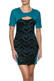 Verty Lace Front Mini - Front cropped
