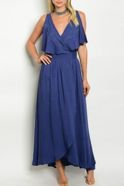 Verty Navy Maxi Dress - Product Mini Image