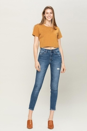 Vervet Distressed Ankle Jeans - Product Mini Image