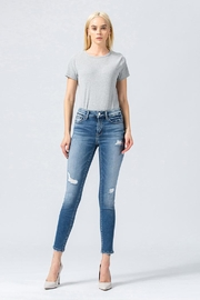 Vervet Distressed Skinny Jeans - Product Mini Image