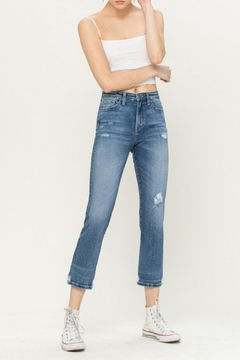 Shoptiques Product: High-Rise Distressed Jeans