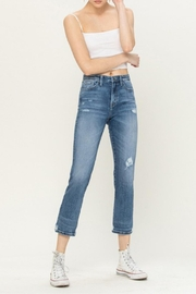 Vervet High-Rise Distressed Jeans - Product Mini Image