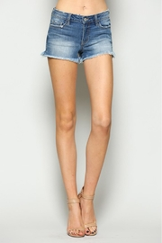 Vervet Mid Rise Shorts - Front cropped