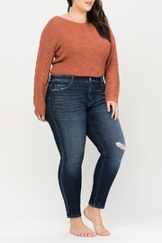 Vervet Mid-Rise Skinny Jeans - Front cropped