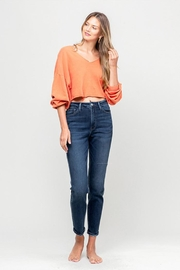Vervet Mom Stretch Jean - Front cropped