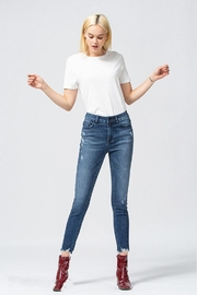 Vervet Uneven Hem Jeans - Product Mini Image