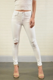 Vervet White Denim Jeans - Product Mini Image