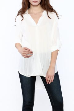 Shoptiques Product: Collared Puddle Blouse
