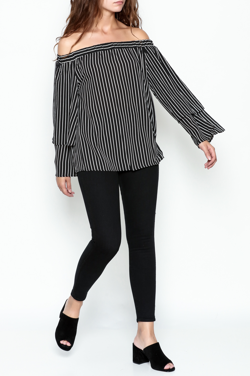 Very J Off The Shoulder Top - Side Cropped Image