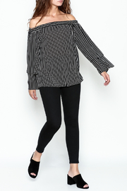 Very J Off The Shoulder Top - Side cropped