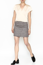 Very J Plaid Skirt - Side cropped