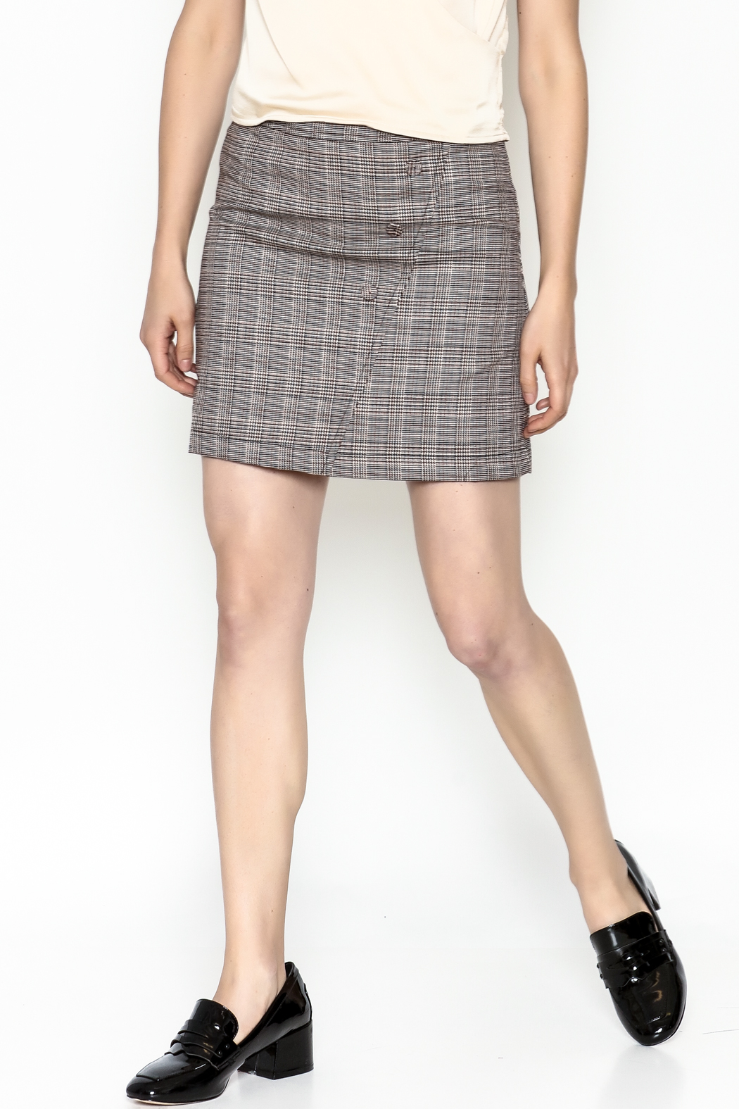 Very J Plaid Skirt - Main Image