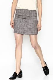 Very J Plaid Skirt - Front cropped