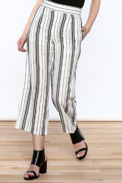 Shoptiques Product: Stripe Wide Leg Pants