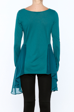Shoptiques Product: Teal Side Top