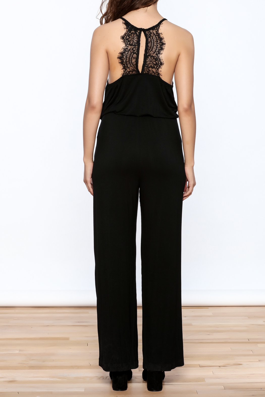 Very J The Bella Jumpsuit - Back Cropped Image