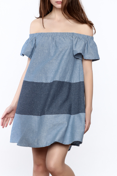 Very J Laguna Denim Dress - Product List Image