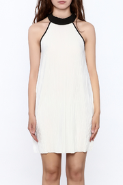 Very J Pleated Halter Dress - Side cropped