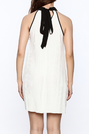 Very J Pleated Halter Dress - Back cropped