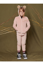 Tea Collection  Very Velour Joggers - Front full body