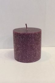 Root Candle Very Violet 3x3 - Front cropped