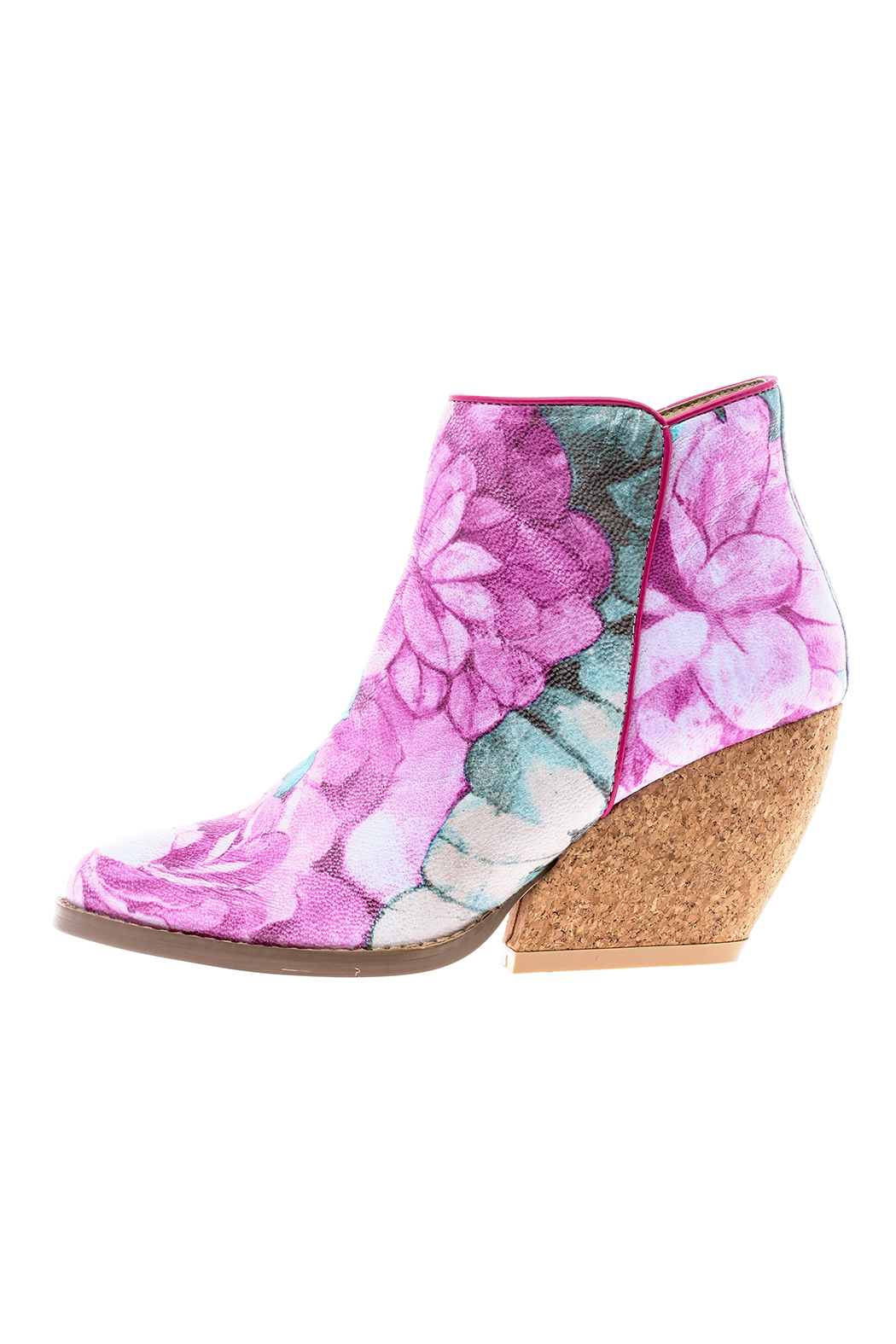Very Volatile Floral Bootie - Main Image