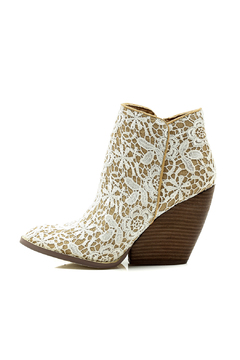 Very Volatile Love Me Lace Bootie - Product List Image