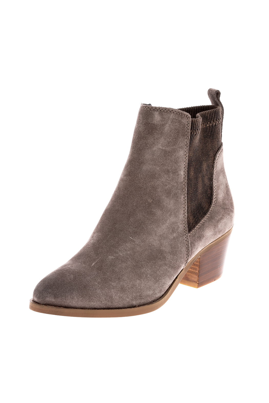 Very Volatile Chelase Style Suede Bootie - Back Cropped Image