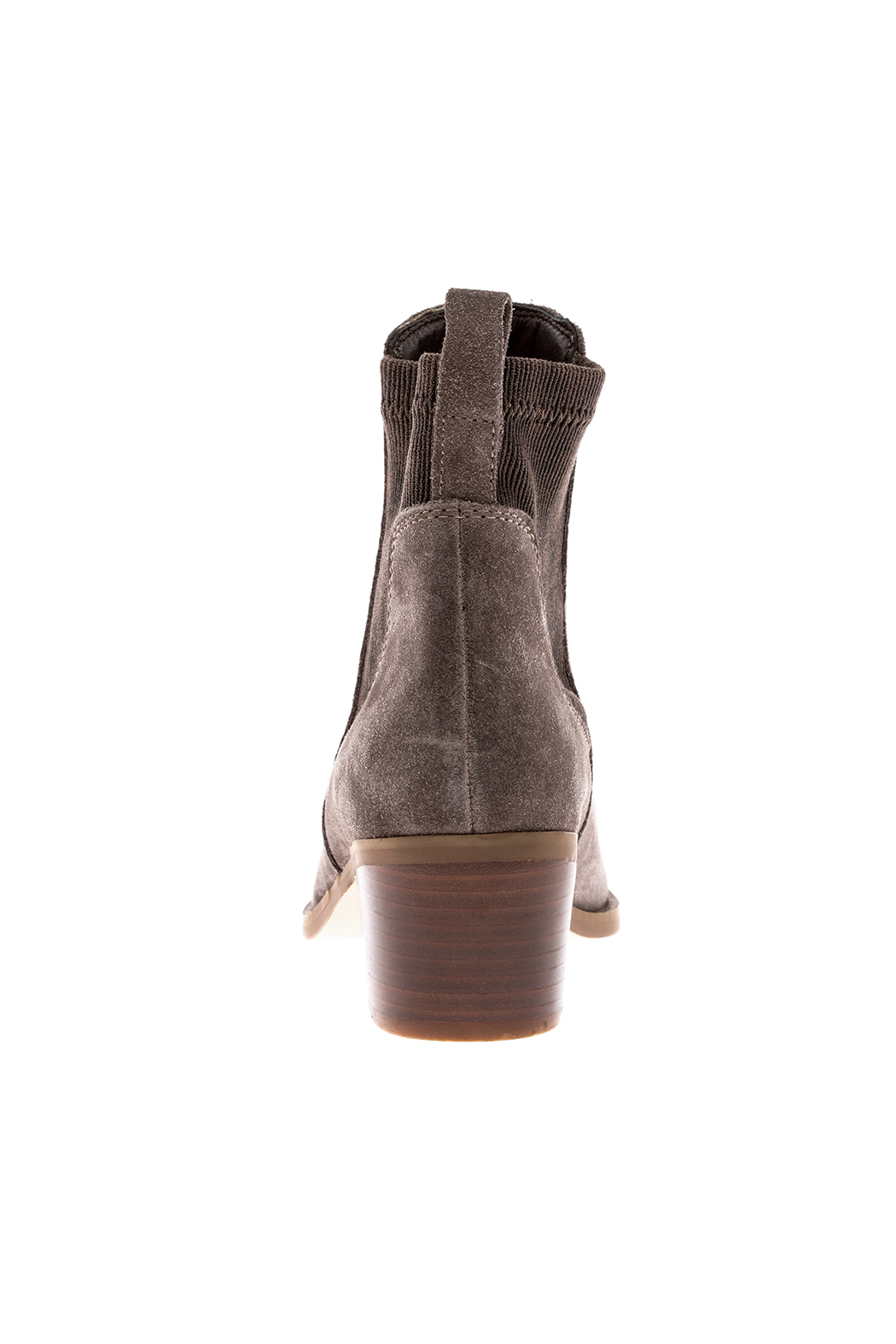 Very Volatile Chelase Style Suede Bootie - Front Full Image