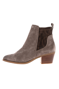 Very Volatile Chelase Style Suede Bootie - Product List Image