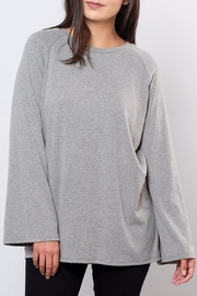 Very J Bell Sleeved Sweatshirt - Front full body