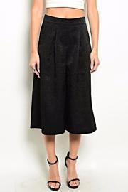 Very J Black Culotte Pants - Product Mini Image